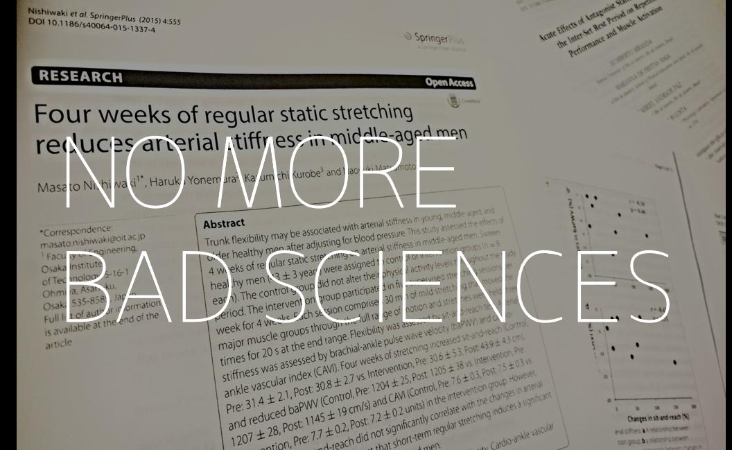 BAD SCIENCE:ダメな科学に惑わされないためには?