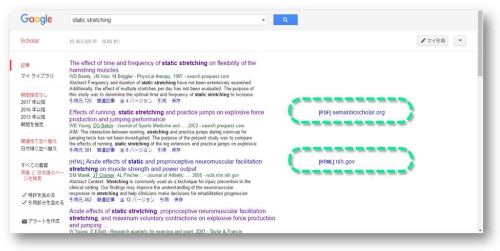 Google Scholarで検索しているときはunpaywallの出番はない