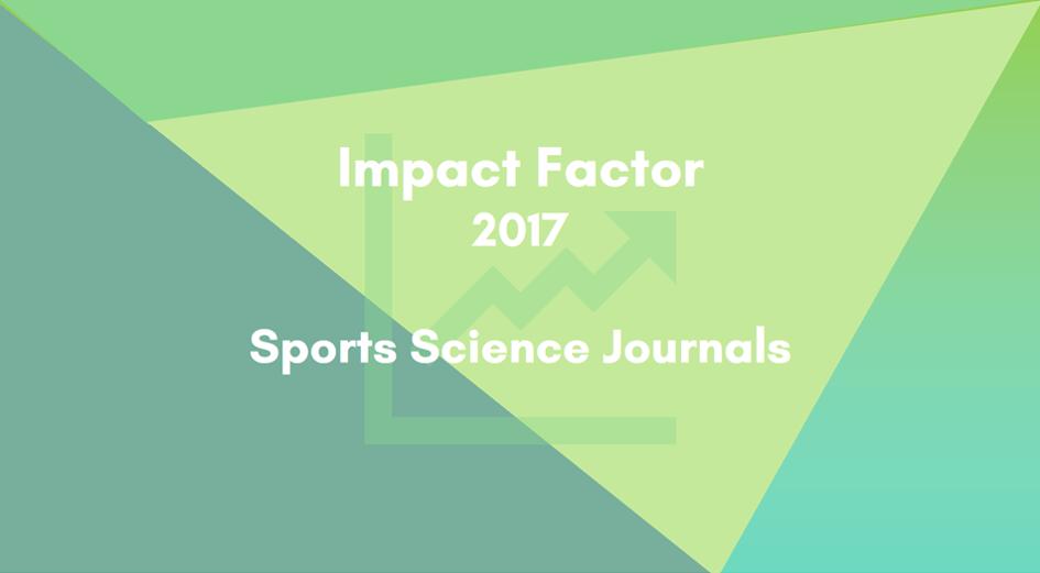 2017年スポーツ科学分野の学術雑誌のインパクトファクター