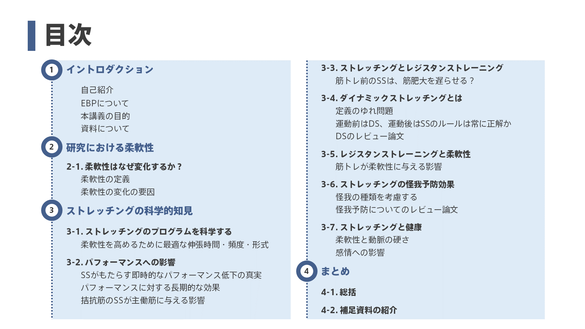NSCAジャパン関西ADセミナー目次